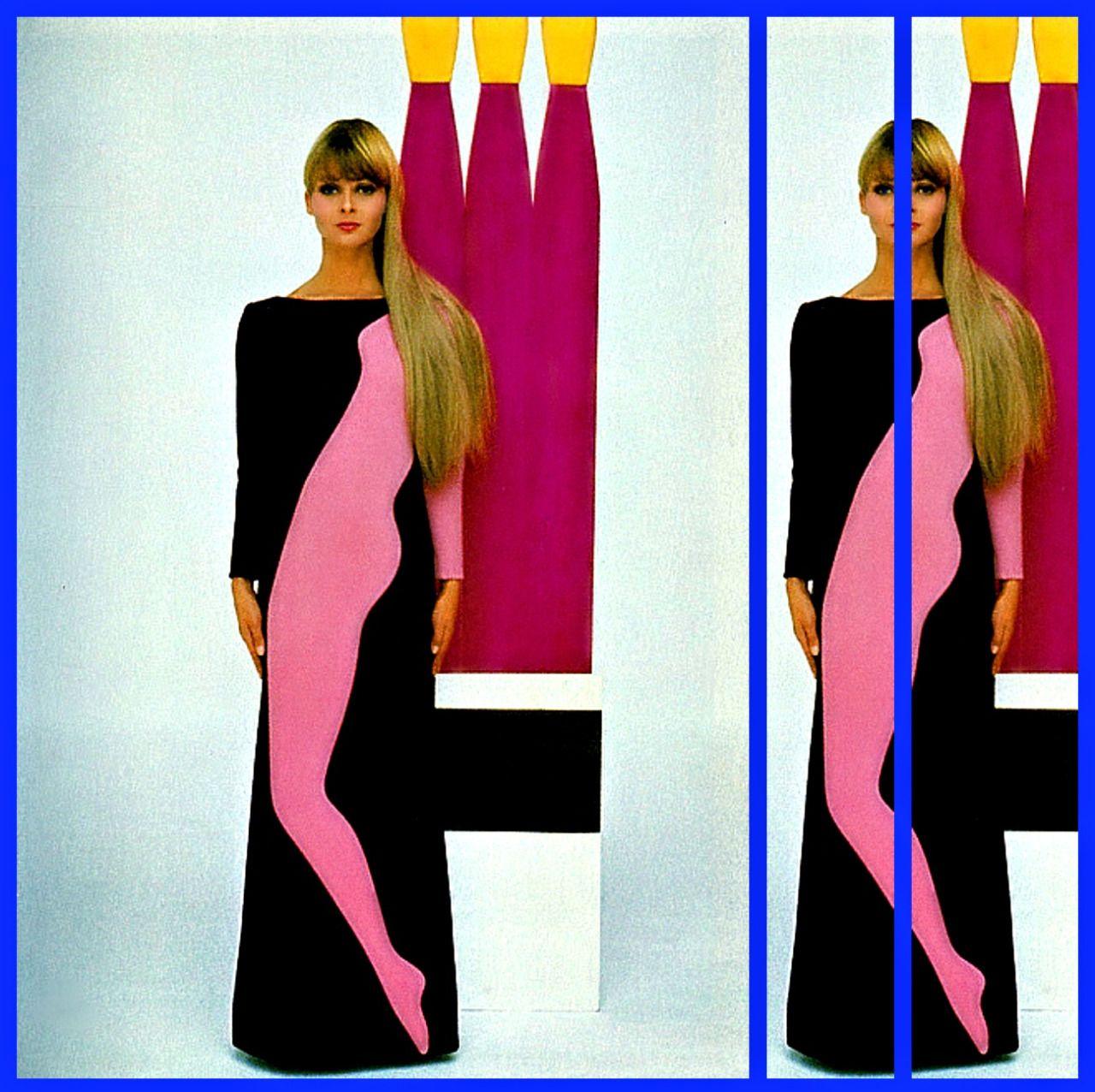 Extrêmement Pop Art Dress from Yves Saint Laurent - 1966 | 1966 - 1967  RM47