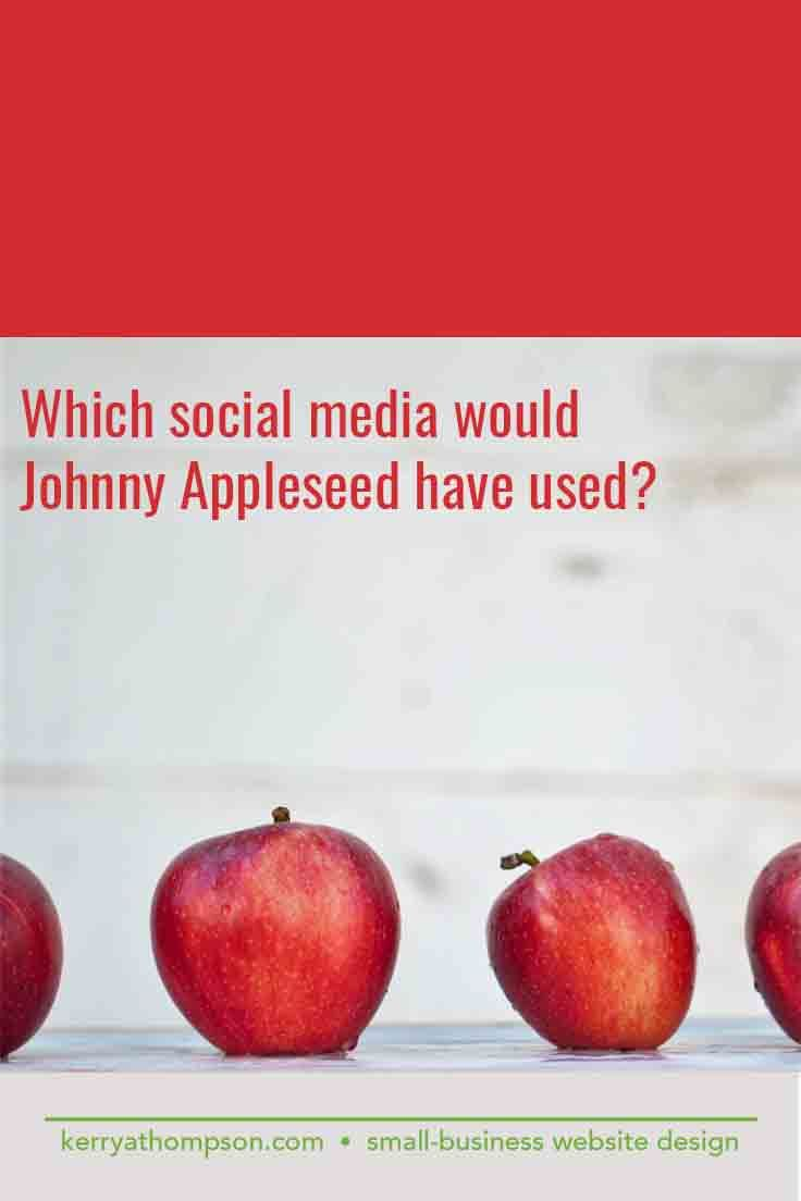 Happy Johnny Appleseed Day! John Chapman was born on