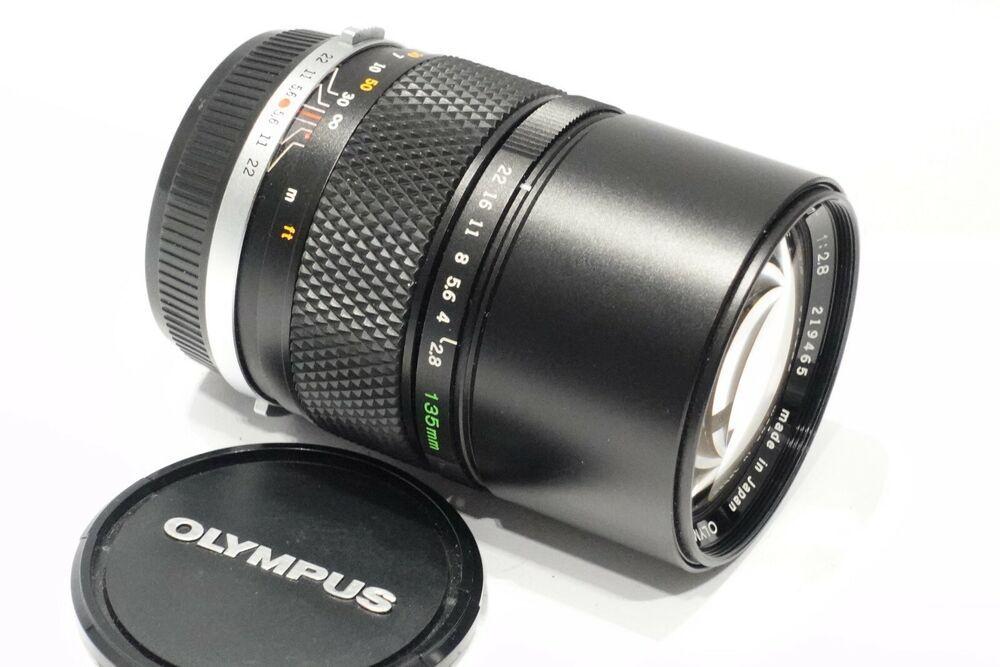 Olympus Om 135mm 1 2 8 Zuiko Auto T Lens Mint Fits Om Camera