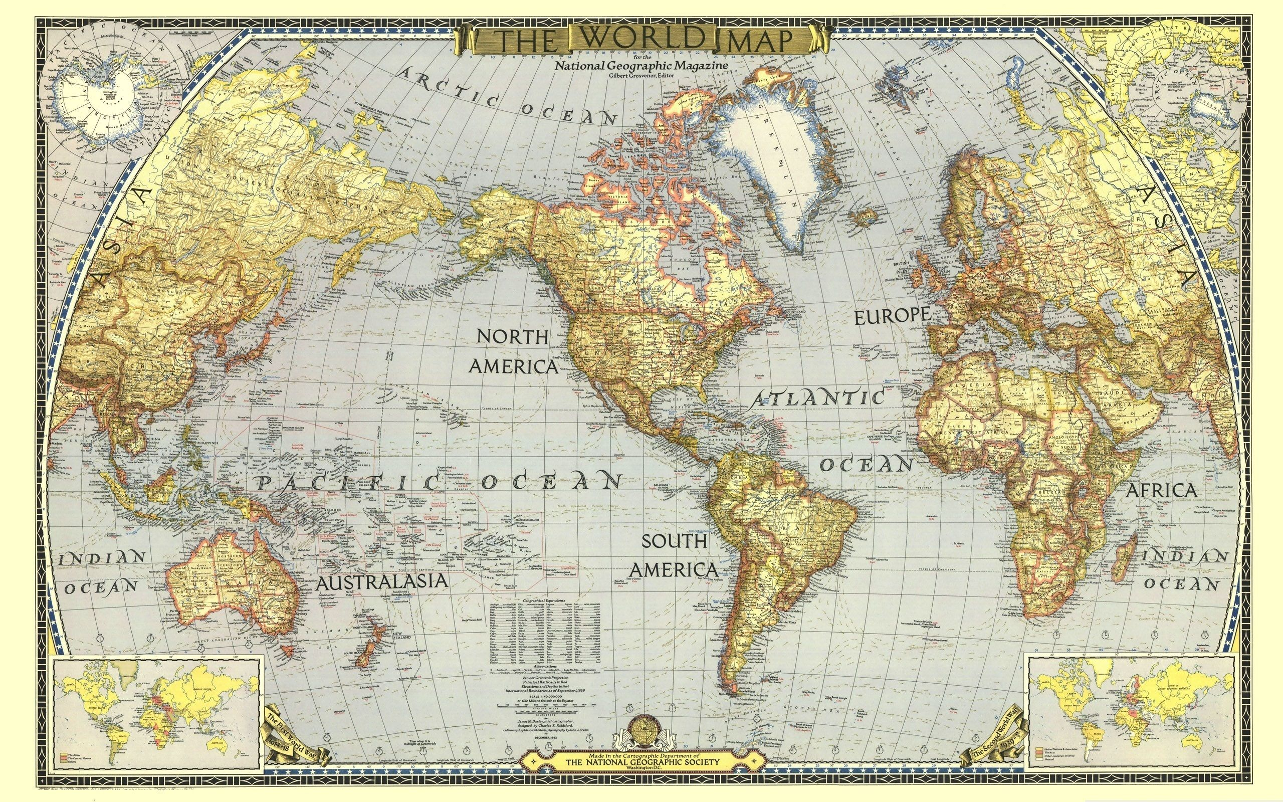 National geographic world map wallpaper maps pinterest national geographic world map wallpaper gumiabroncs Image collections