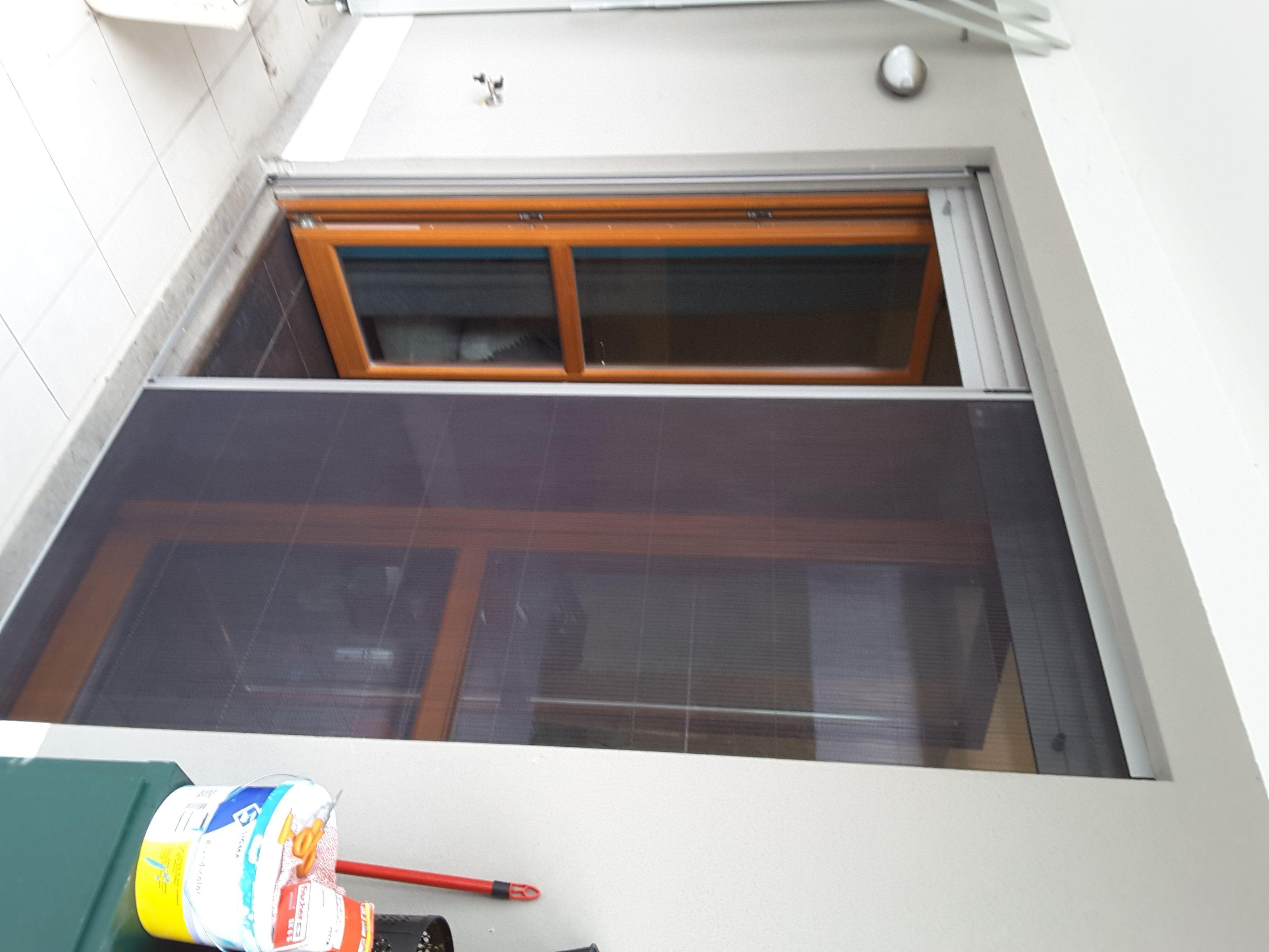 Zanzariera plissettate per grandi porte finestre - Finestre grandi ...