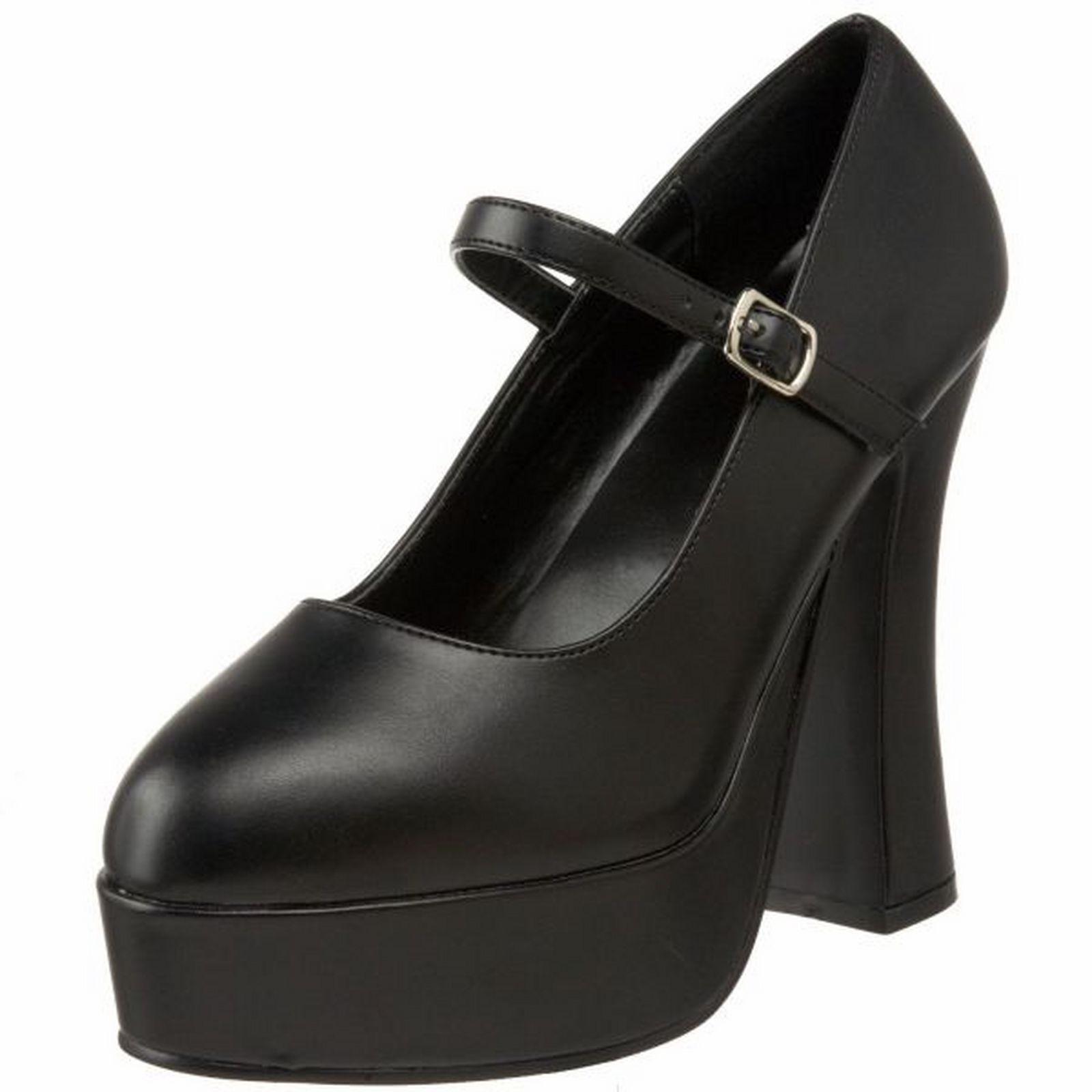 Demonia DOLLY-50 Platform Sandals Black