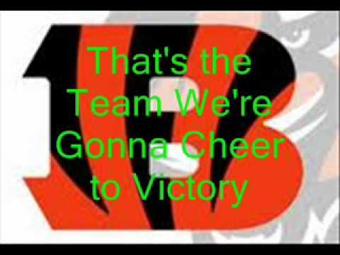 Bengals Fight Song With Lyrics Fight Song Songs Lyrics