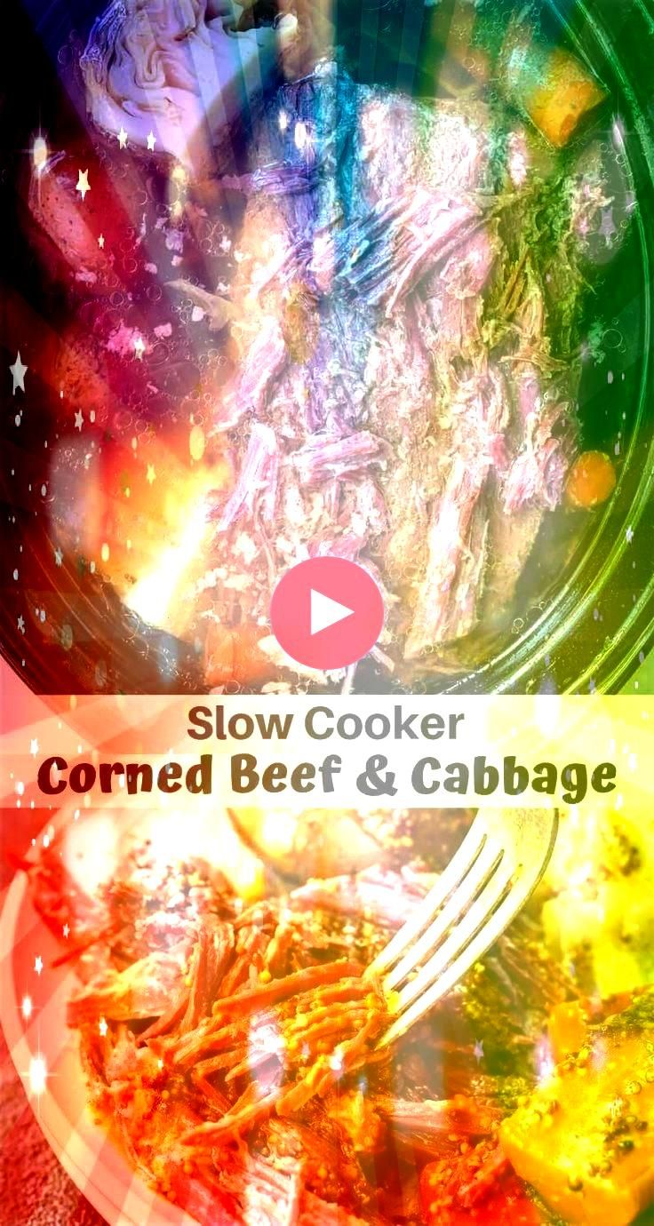 Beef and Cabbage Recipe is great because it is easy and low effort Just toss the ingredients in your slow cooker set it and forget it Saint Patricks Day d This Crock...