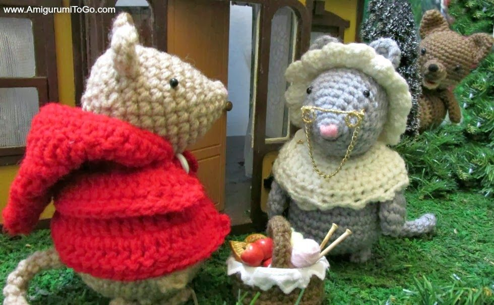 Little Red Riding mouse free amigurumi pattern set! Because there ...