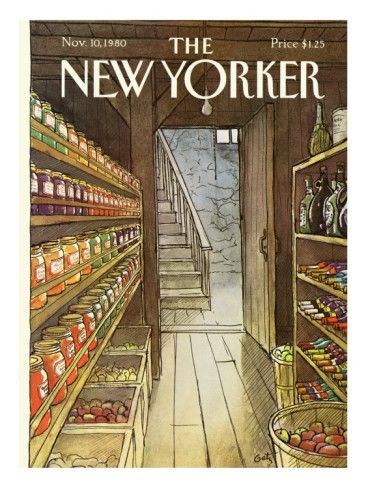 The New Yorker Cover - November 10, 1980 Poster Print  by Arthur Getz at the Condé Nast Collection