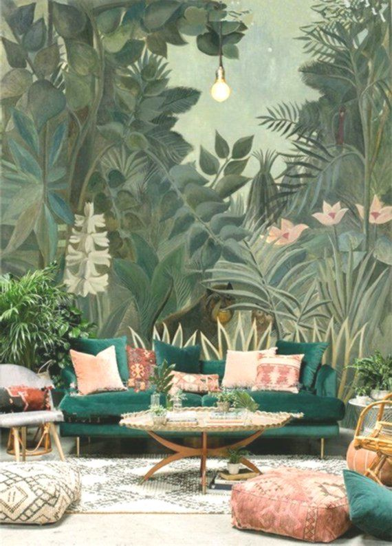 Tree Design Wallpaper Living Room: Pin On Interior Design 2019