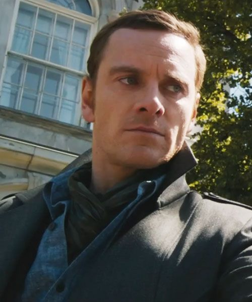 Magneto. Can't wait for this movie. Trailer looks awesome and i love Fassy! :)