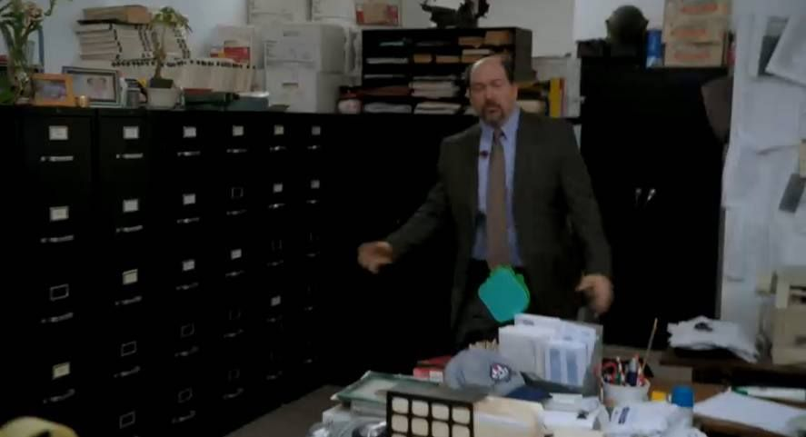"""Marc Raco gets bullets in him on """"Law and Order SVU"""""""