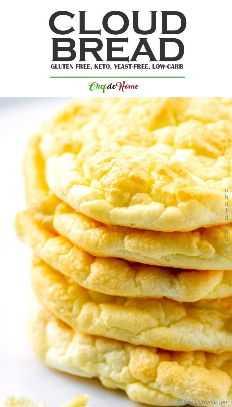 4 Ingredient Cloud Bread Recipe