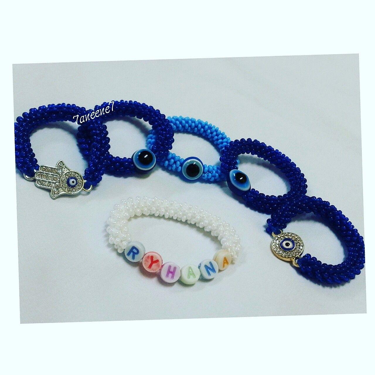 اساور خرز Beaded Bracelets Jewelry Beaded