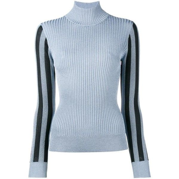 8691ac76deb House Of Holland lurex turtleneck jumper (17.675 RUB) ❤ liked on Polyvore  featuring tops
