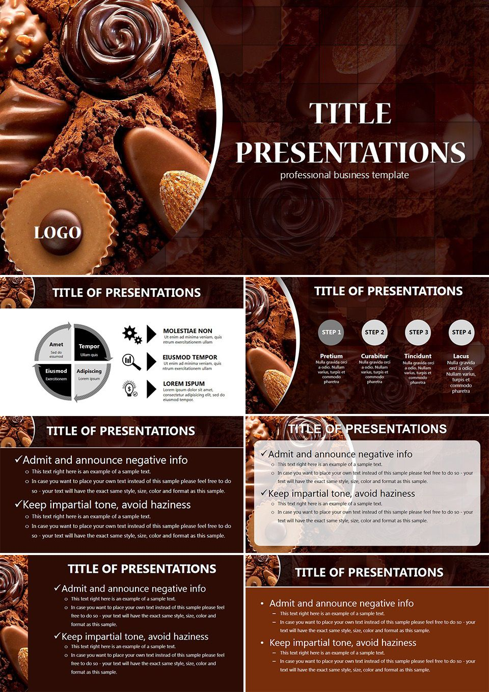 chocolate powerpoint templates powerpoint templates pinterest chocolate. Black Bedroom Furniture Sets. Home Design Ideas
