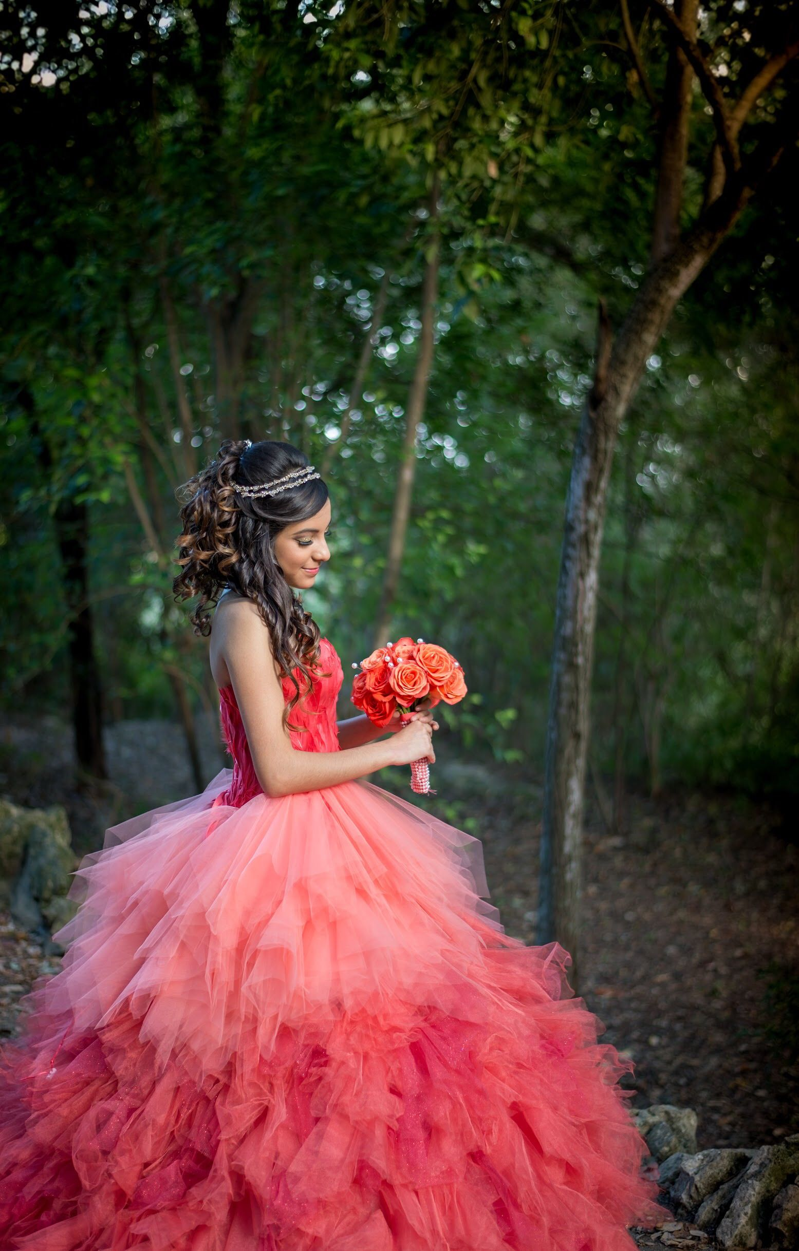 1847a56ea3 Quinceañera - Photography - San Antonio - Texas - Japanese Tea Garden