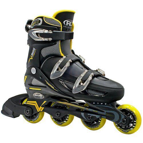 Roller Derby Men's V500 Adjustable Inline Skates « Game Time Home
