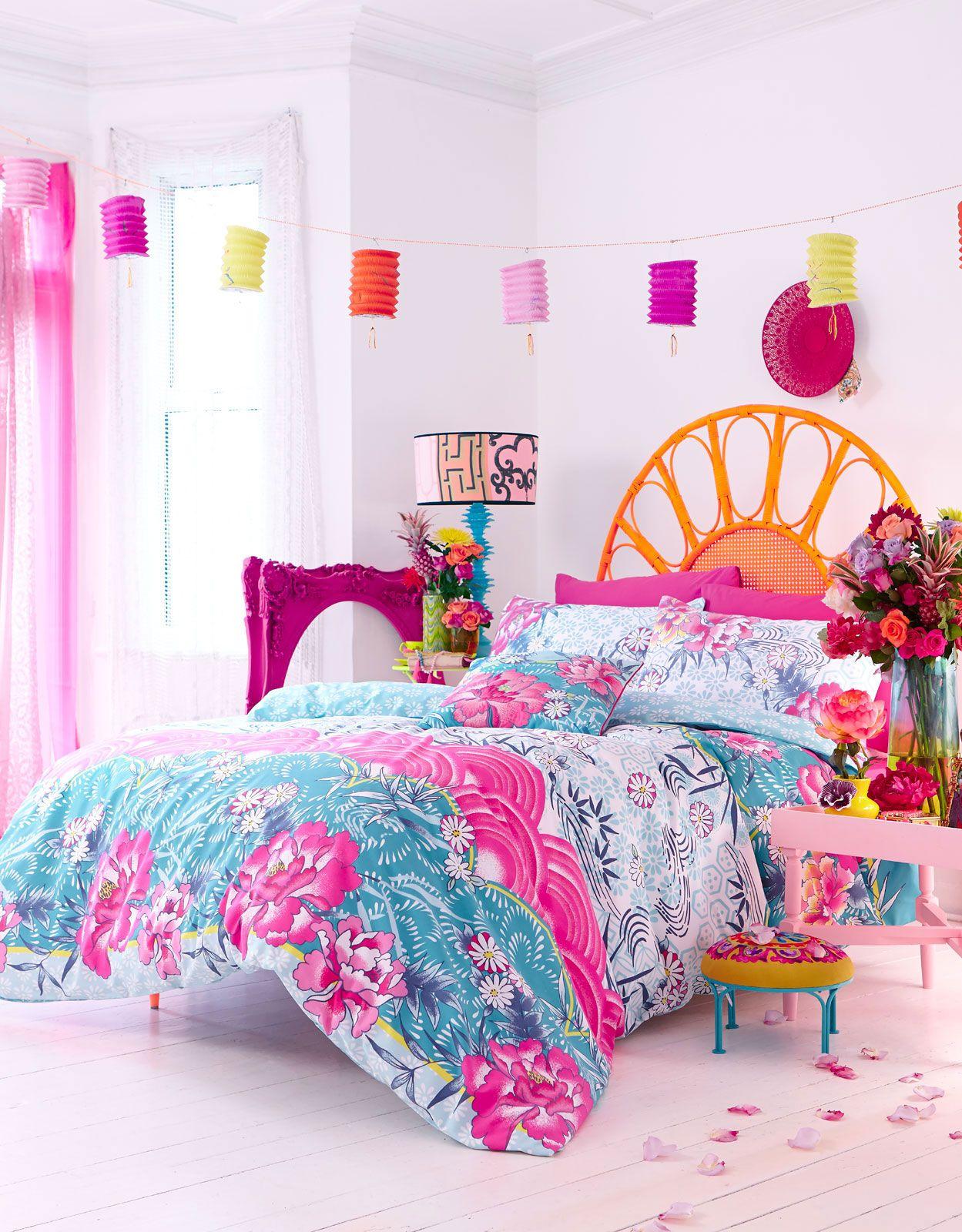Kinder, Tropische Bettwäsche Haus deko, Bettwäsche, Bett