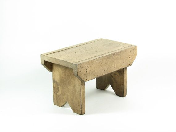images of antique wooden foot stools | RESERVED for Cye Gossett Vintage Wood Footstool Wooden Bench  sc 1 st  Pinterest & images of antique wooden foot stools | RESERVED for Cye Gossett ... islam-shia.org