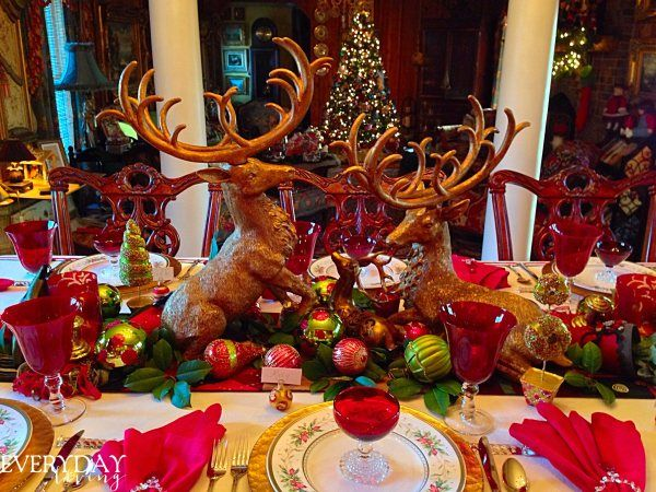 Tablescape Tuesday: Gloria In Excelsis Deo! | Christmas tablescapes, Gloria in excelsis deo ...