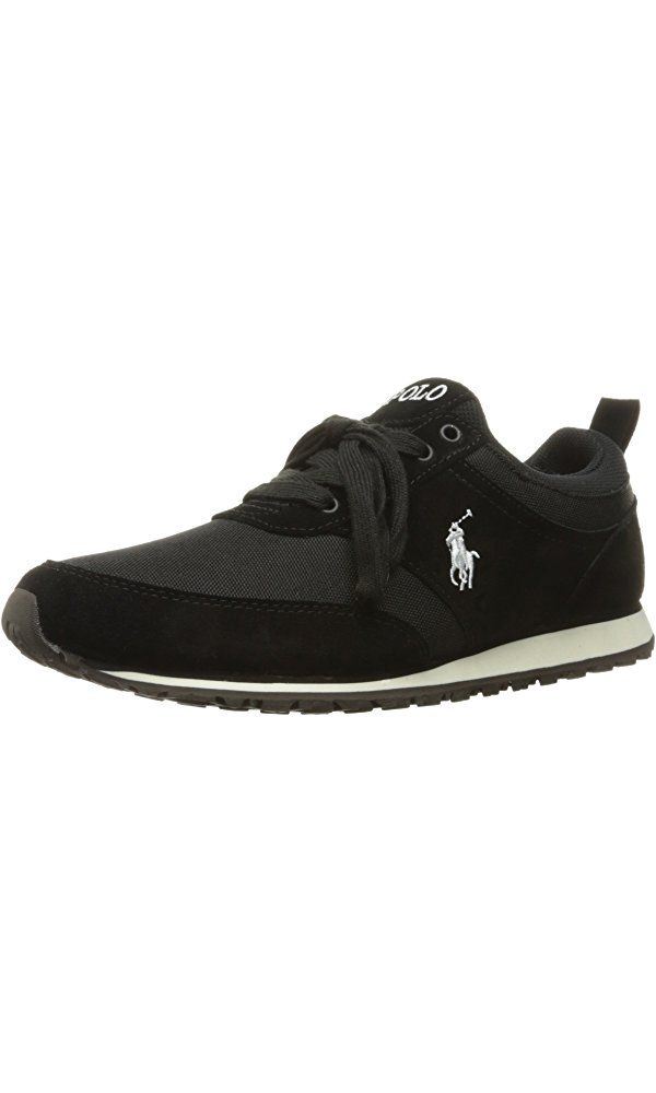 9de2bc87077b Polo Ralph Lauren Men s Ponteland Fashion Sneaker, Black, 7 D US Best Price