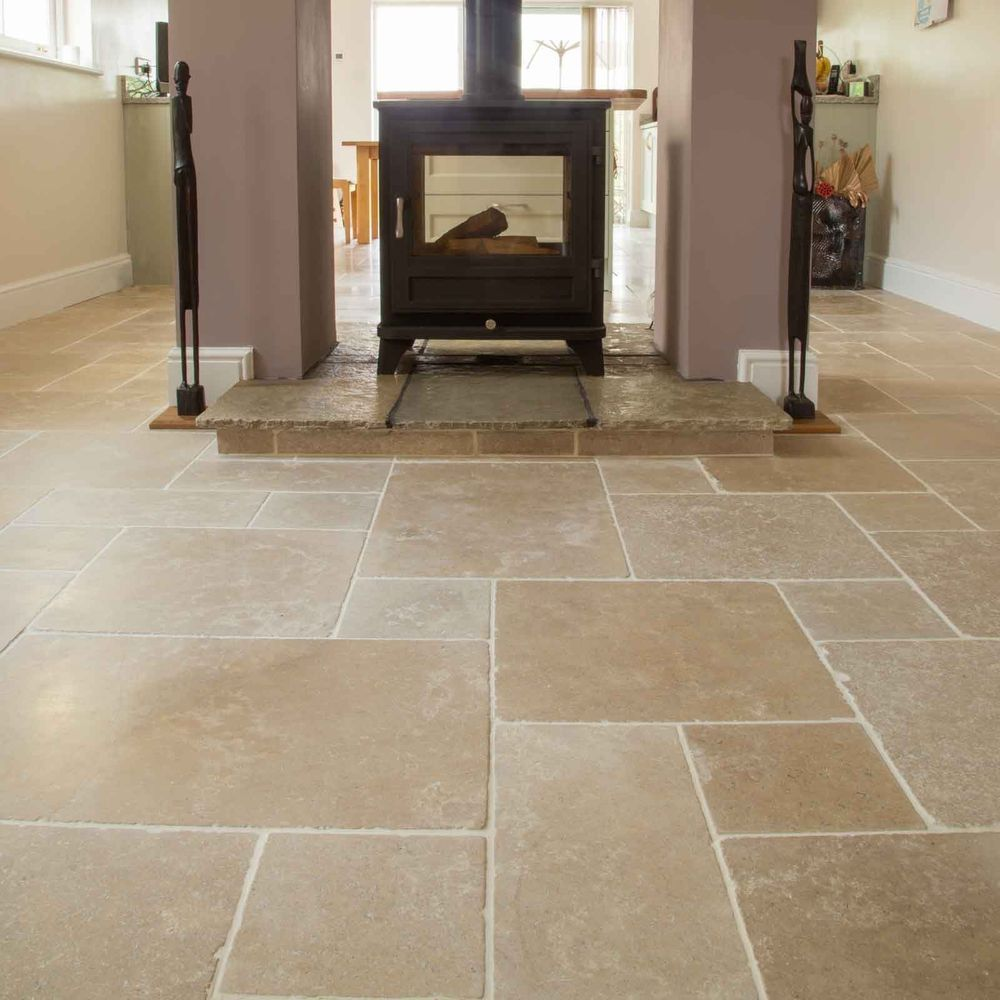 Tremayne Antiqued Limestone Floor Tiles Limestone Floor Tiles