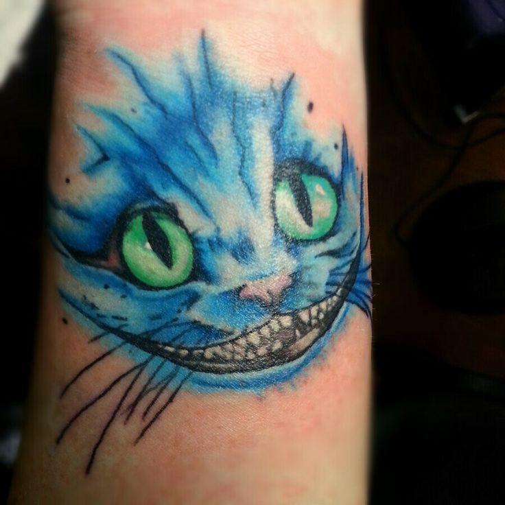 Cheshire cat smile tattoo | Tattoo Portfolio | Pinterest