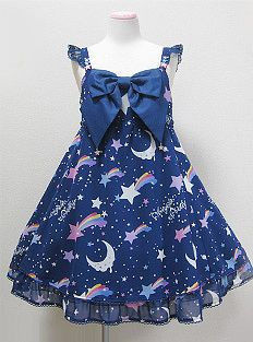 c8f8341977 This is my dream jsk... Angelic Pretty Dream Sky JSK. They don't make it  anymore so you can only buy it secondhand and it's always so expensive -_-
