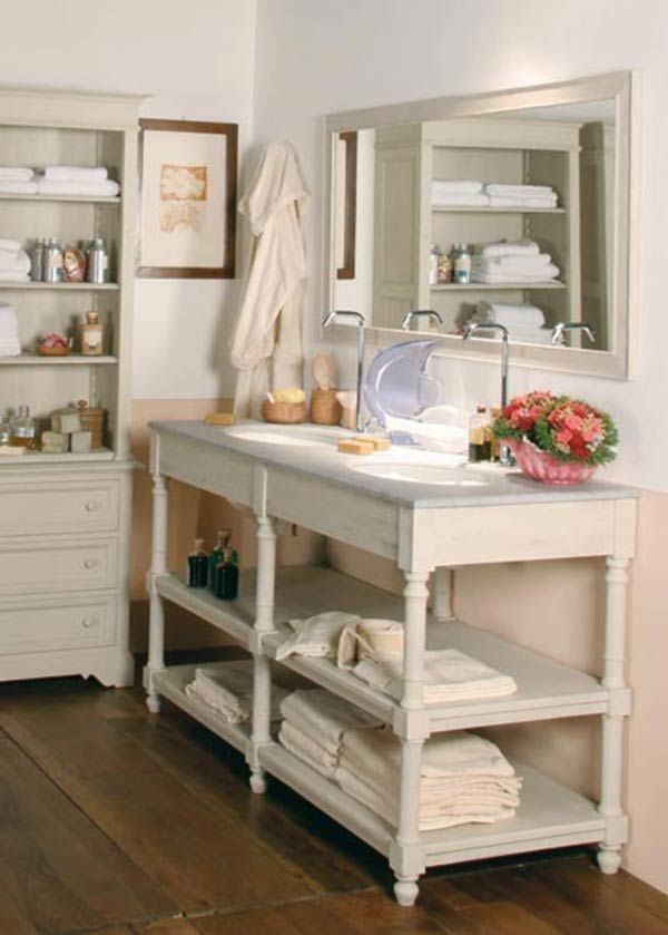 shabby-chic-bagno-bianchini-capponi | Bathrooms | Pinterest | Shabby ...