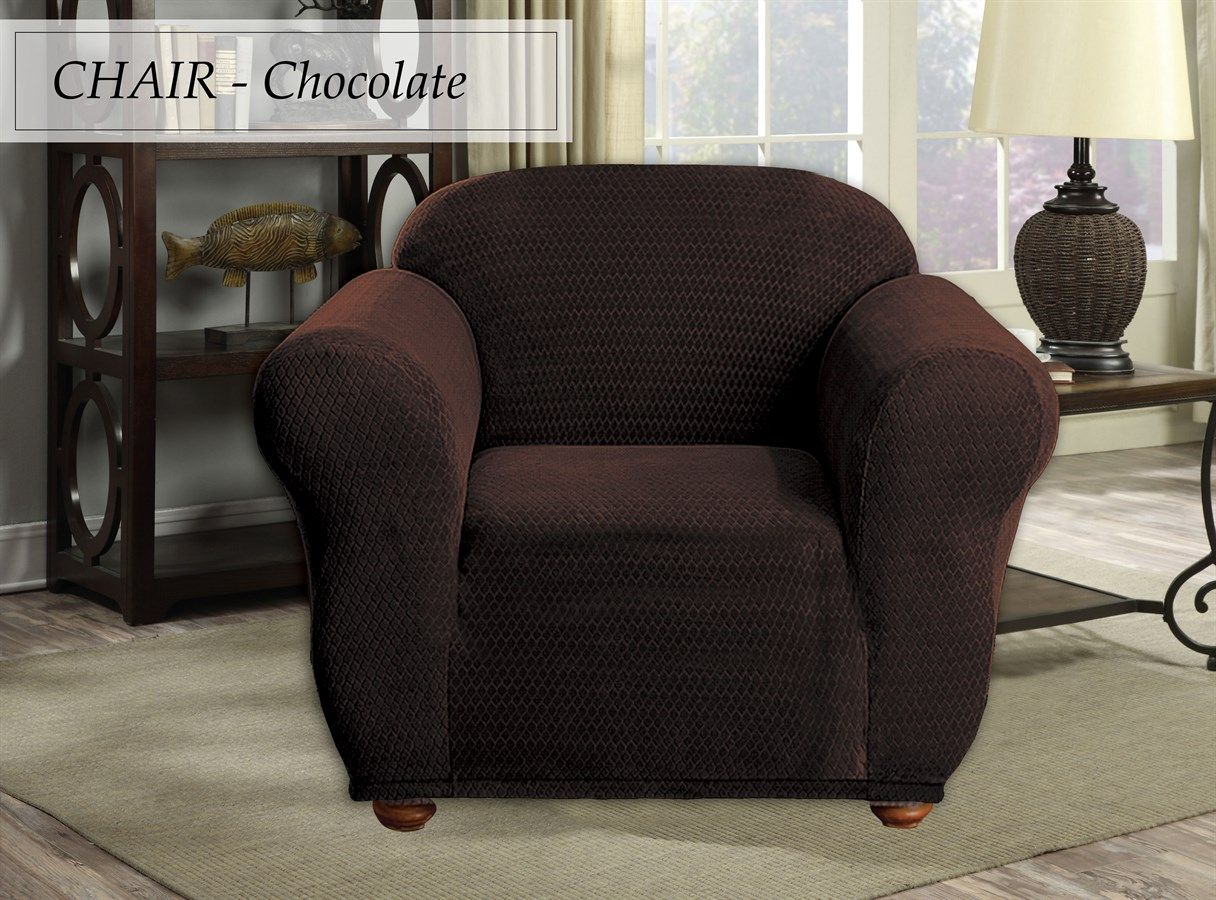 Velvet Quilted Elastic Couch Covers Slipcovers for