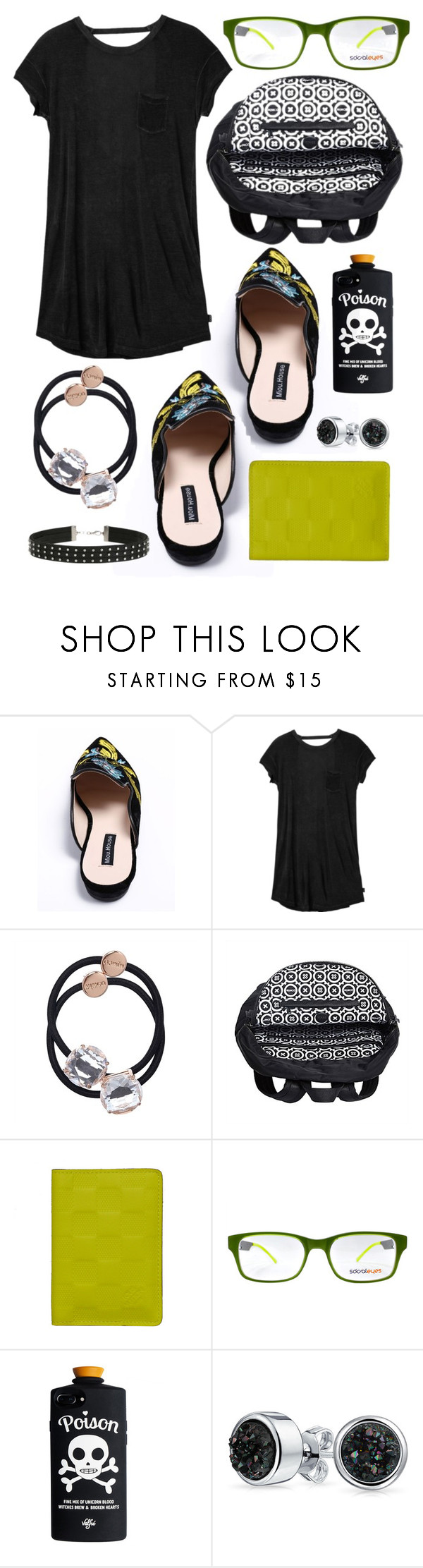 """Fern"" by goingdigi on Polyvore featuring RVCA, Louis Vuitton, SocialEyes, Bling Jewelry and Miss Selfridge"