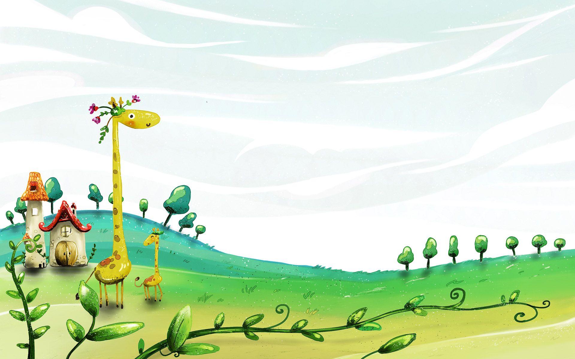 Spring Wallpaper Cute Wallpaper Backgrounds Cartoon Wallpaper Spring Desktop Wallpaper