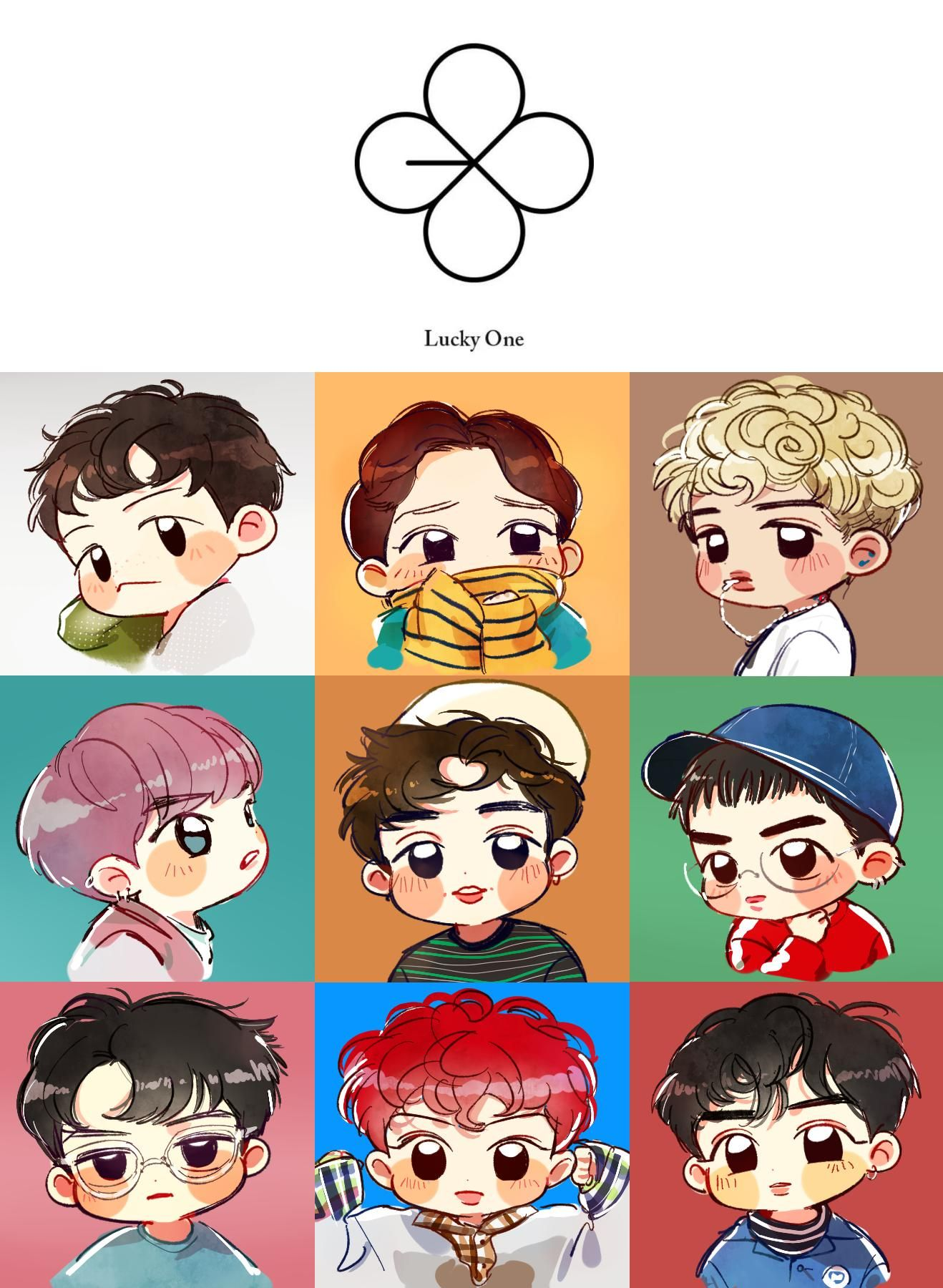 Pin by Pam on Fanart Pinterest Exo, Kpop and Exo members