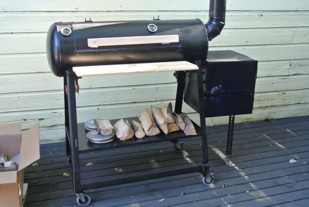 How To Build A Reverse Flow Offset Smoker Offset Smoker