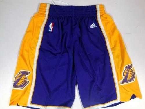 83279b255384 Los Angeles Lakers Purple NBA Shorts