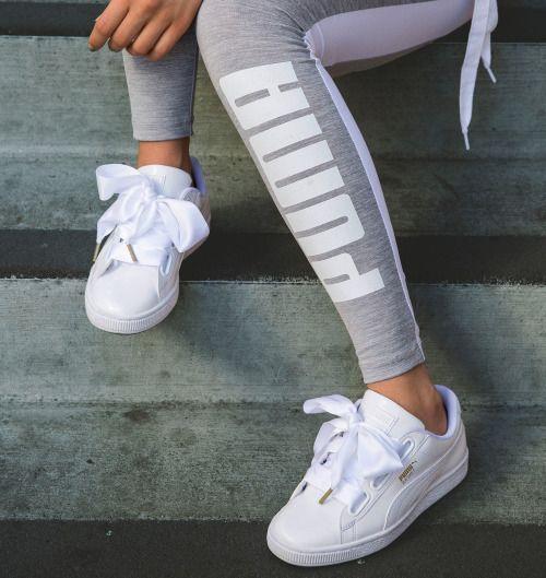 zapatillas saucony para correr mujer puma blancas lazo