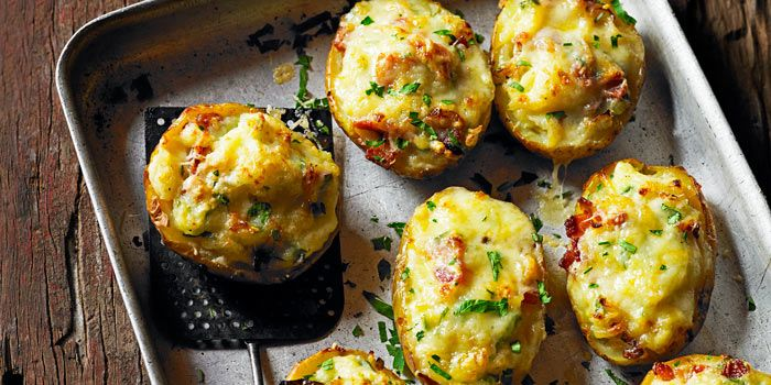 Bonfire Night baked potatoes #bonfirenightfood