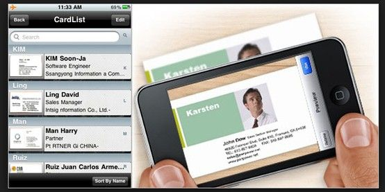5 Apps To Keep Your Business Cards Organized Apps For Business