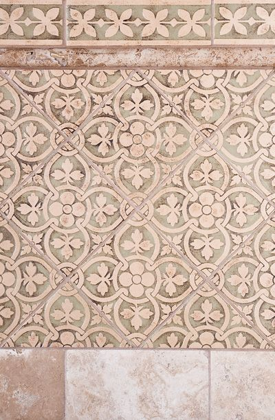 Decorative Tile Floors Country Floors Crossing Collection Love This Pattern~  I Love