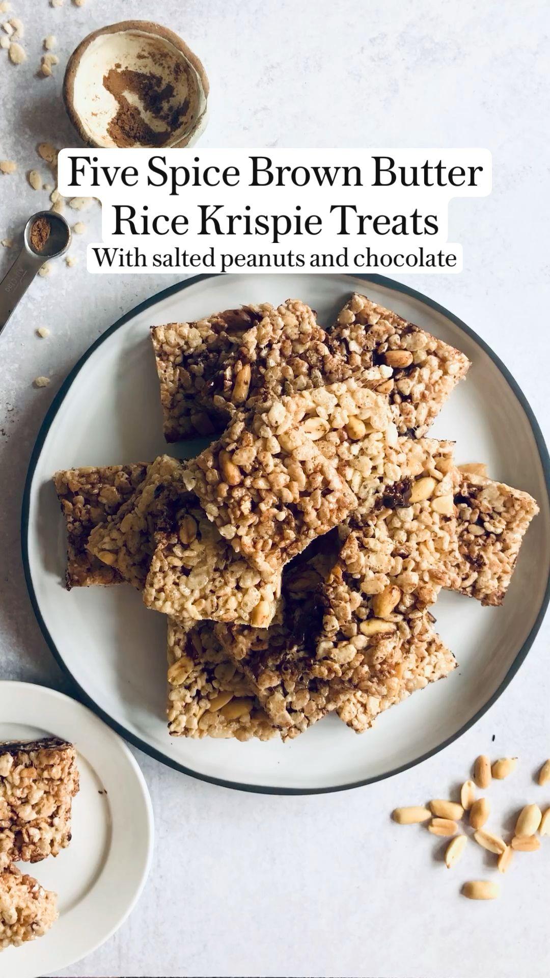 Peter Som's Five Spice Brown Butter Rice Krispie T