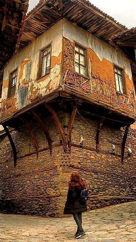 TURKEY Old shutters, doors  widows Pinterest Architecture - construire une maison au mali