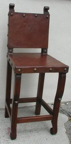 Spanish Colonial Bar Chair In 2019 Revival Furniture Chairs