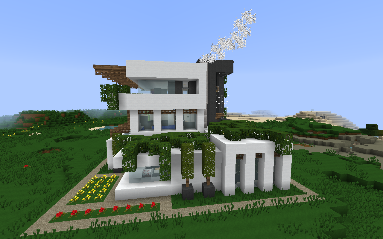 perma frost – modern minecraft house | everything minecraft