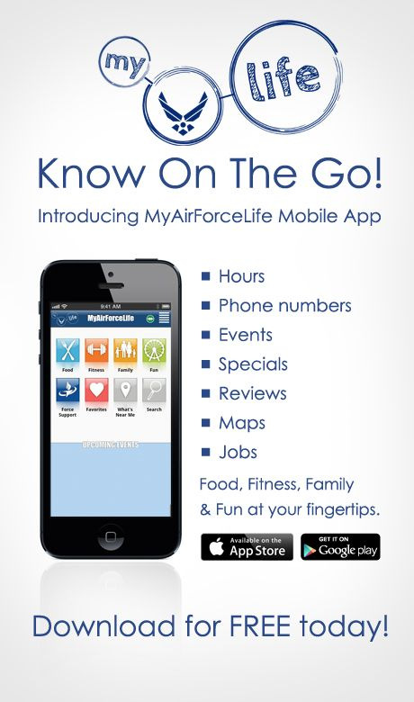 """MY AIR FORCE LIFE app keeps you """"in the know on the go"""