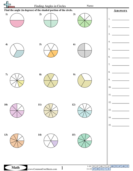 math worksheet : finding angles in circles worksheet  math  pinterest  : Circles Worksheet