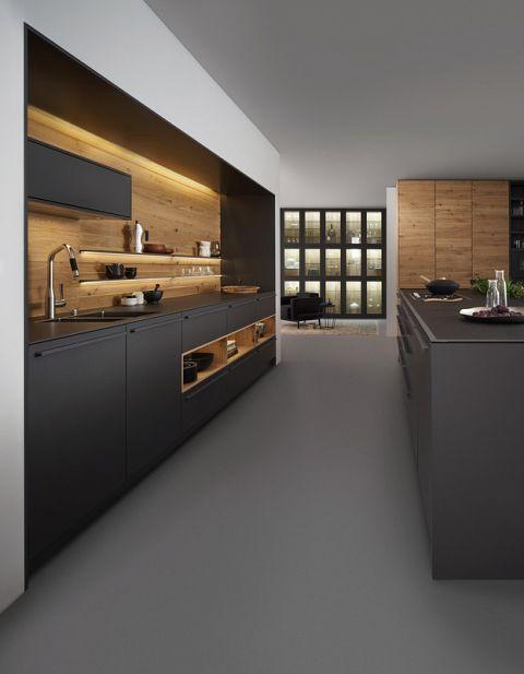 BONDI VALAIS u203a Lacquer u203a Modern style u203a Kitchen u203a Kitchen - küchenzeile u form