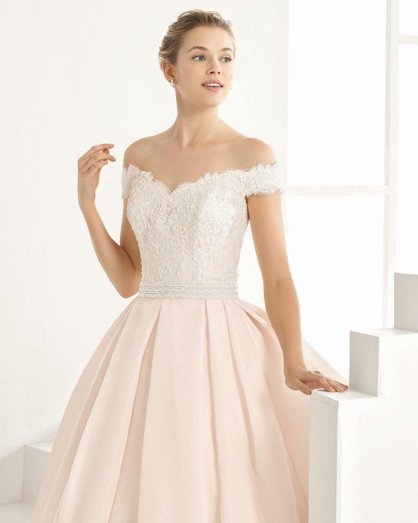 Lieblingsstücke 2017 <3 Rosé, blush oder puder-farbene Brautkleider ...