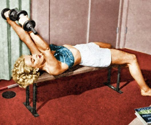 Marilyn Monroe Black /& White Weight Lifting Poster 24 x 36