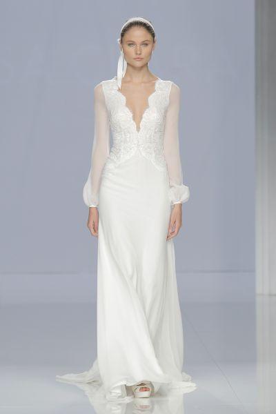 c5a455e25 Vestidos de novia para mujeres bajitas. ¡Diseños que te dejarán  boquiabierta! Image