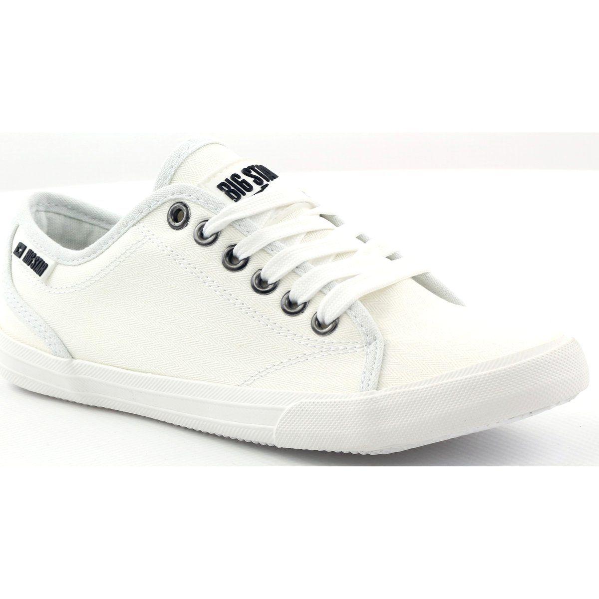 Trampki Tenisowki Big Star 274835 Biale Sneakers Shoes Superga Sneaker