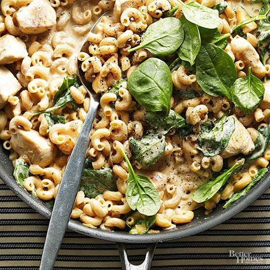 Stovetop Chicken Macaroni And Cheese
