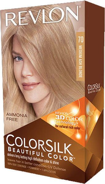 Revlon Colorsilk Beautiful Color 70 Medium Ash Blonde With Images